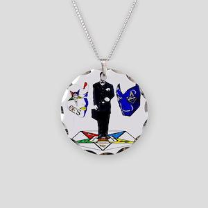 masonoes Necklace Circle Charm