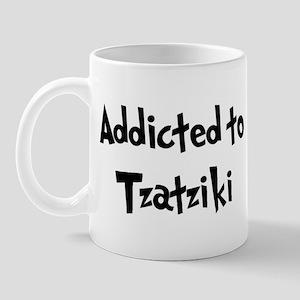 Addicted to Tzatziki Mug