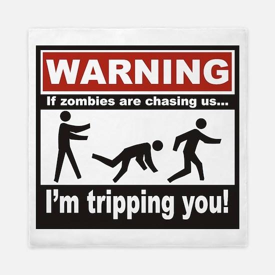 Zombie Trip Queen Duvet
