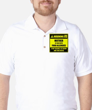 WARNING- MOTHER! Golf Shirt
