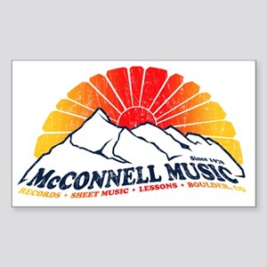 McConnell Music Sticker (Rectangle)