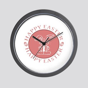 Easter Bunny Design II Wall Clock