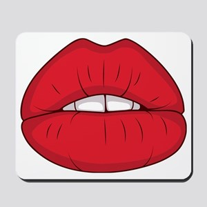 Kiss me Mousepad