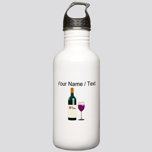 Custom Wine Bottle And Wine Sports Water Bottle