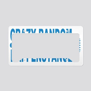 Crazy Random Happenstance License Plate Holder