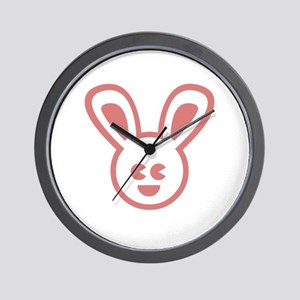 Bunny Design Wall Clock