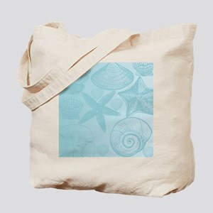 Aqua shells Tote Bag