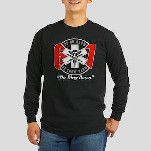 The Dirty Dozen (light) Long Sleeve Dark T-Shirt