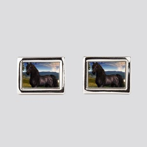 Freisian Horse Cufflinks