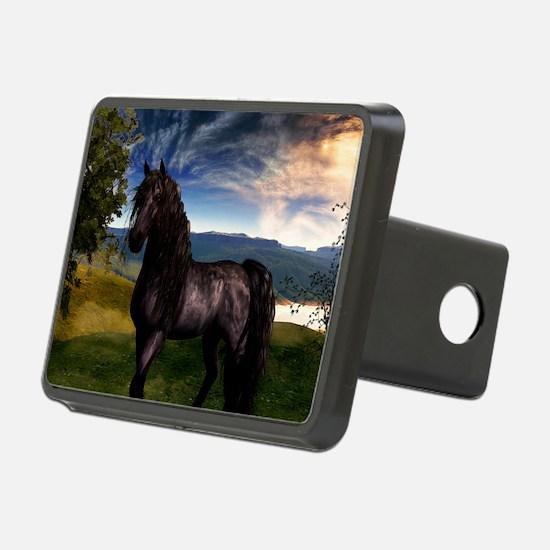Freisian Horse Hitch Cover