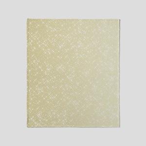 Gold sparkles Throw Blanket