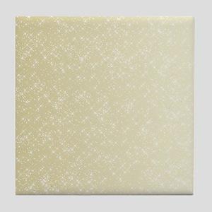 Gold sparkles Tile Coaster