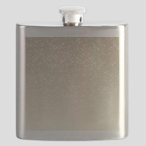 Cream Sparkles Flask