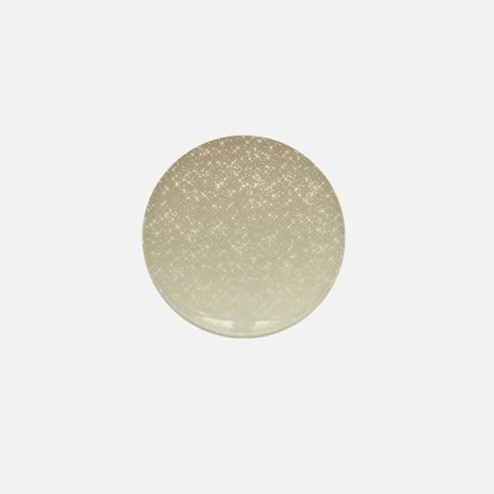 Cream Sparkles Mini Button