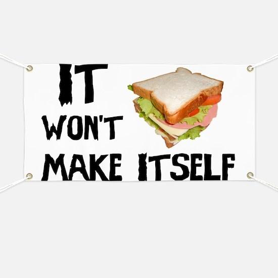 Make me a Sandwich Banner