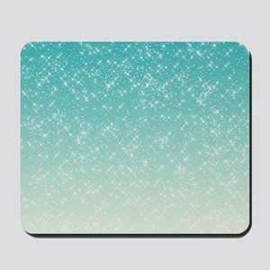 Sparkling Aqua Sea Mousepad