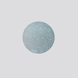 Sparkling Blue Mini Button