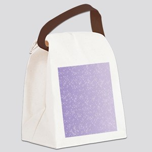 Sparkling Lilac Canvas Lunch Bag