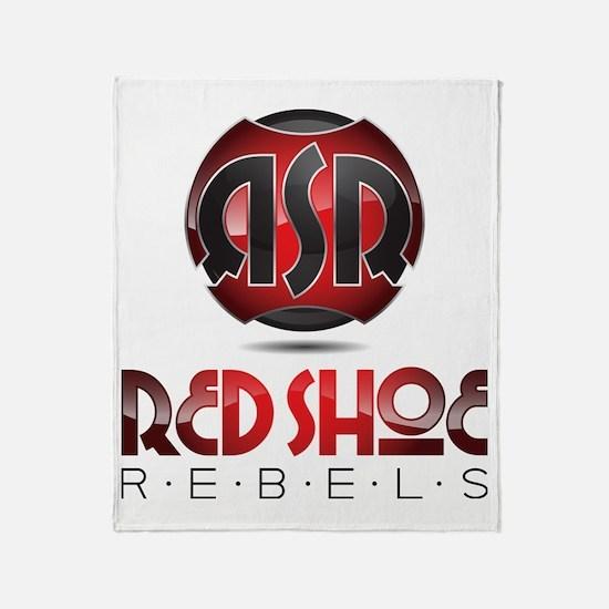 RsR Shoe Logo Throw Blanket