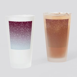 Sparkling Pink Drinking Glass