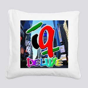 IQ Deluxe Square Canvas Pillow