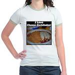 I Love Cheese Enchildas Jr. Ringer T-Shirt