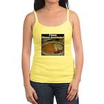 I Love Cheese Enchildas Jr. Spaghetti Tank
