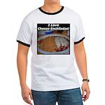 I Love Cheese Enchildas Ringer T