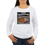 I Love Cheese Enchildas Women's Long Sleeve T-Shir