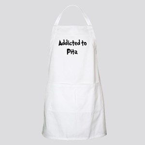 Addicted to Pita BBQ Apron