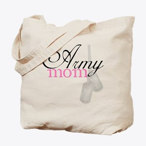 Army Mom (Black  Pink) Tote Bag