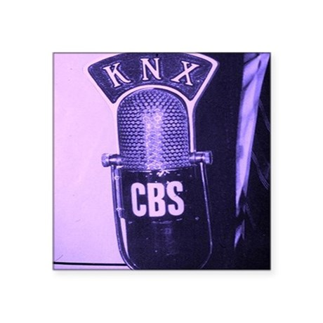 "KNX Radio Square Sticker 3"" x 3"""
