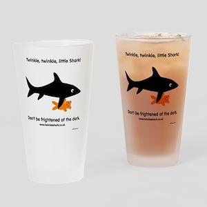 Twinkle, Twinkle Little Shark Drinking Glass