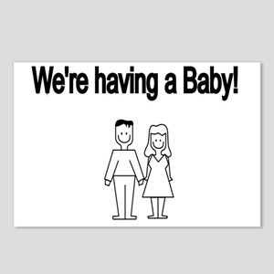 Were having a Baby Postcards (Package of 8)