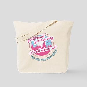 City getaway Tote Bag