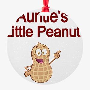 Aunties  Little Peanut Round Ornament