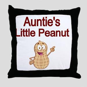Aunties  Little Peanut Throw Pillow