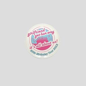 30th Birthday getaway Mini Button
