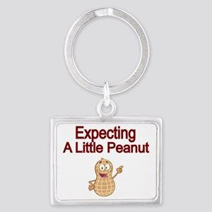 Expecting a little Peanut Landscape Keychain