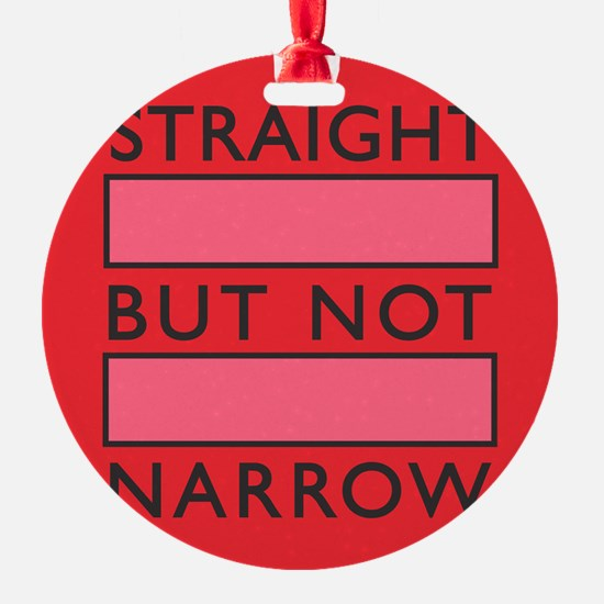 I Support Marriage Equality in Pink Ornament
