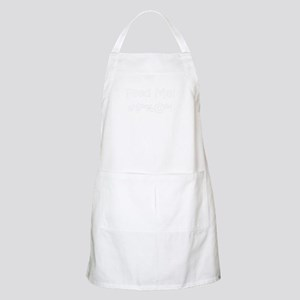 'Feed Me!' (black letters) BBQ / Kitchen Apron