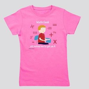 Math Geek Girl's Tee