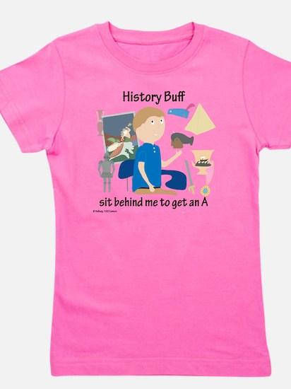History Buff Girl's Tee