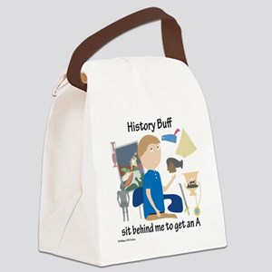 History Buff Canvas Lunch Bag