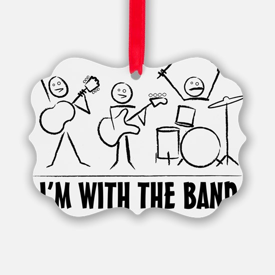 stickman band Ornament