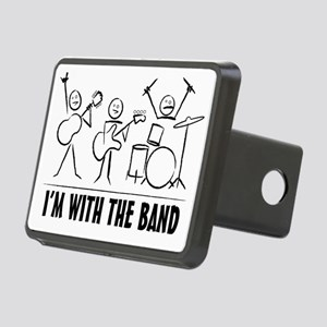 stickman band Rectangular Hitch Cover