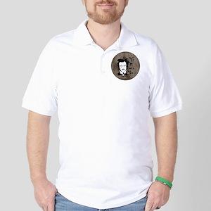 Funny Edgar Allen Poe Golf Shirt