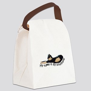 Tuxie Love Canvas Lunch Bag
