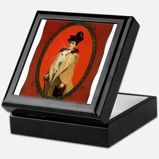 Julia Arthur - US Printing - 1899 Keepsake Box