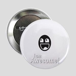 "I Am Awesome Shirt 2.25"" Button"